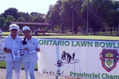 Sylvia and Regina at OLBA Provincial Championship edit